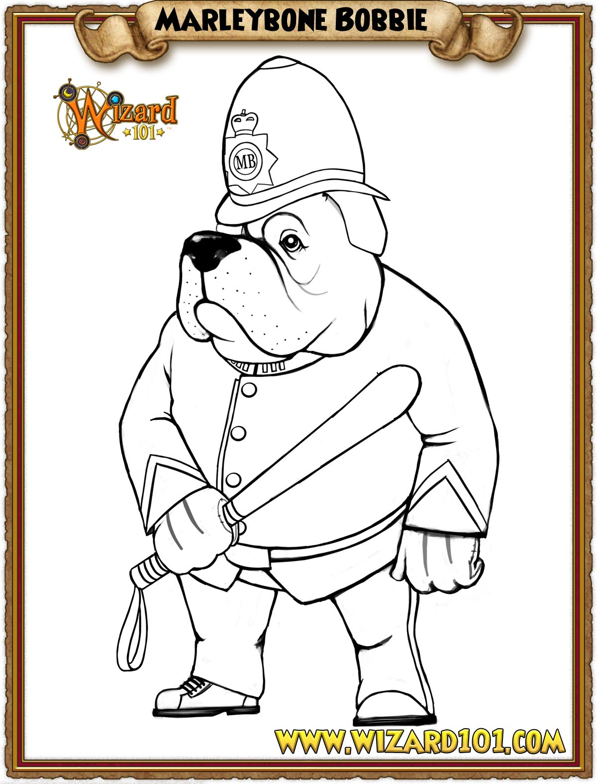 wizard101 printable coloring pages - photo#19