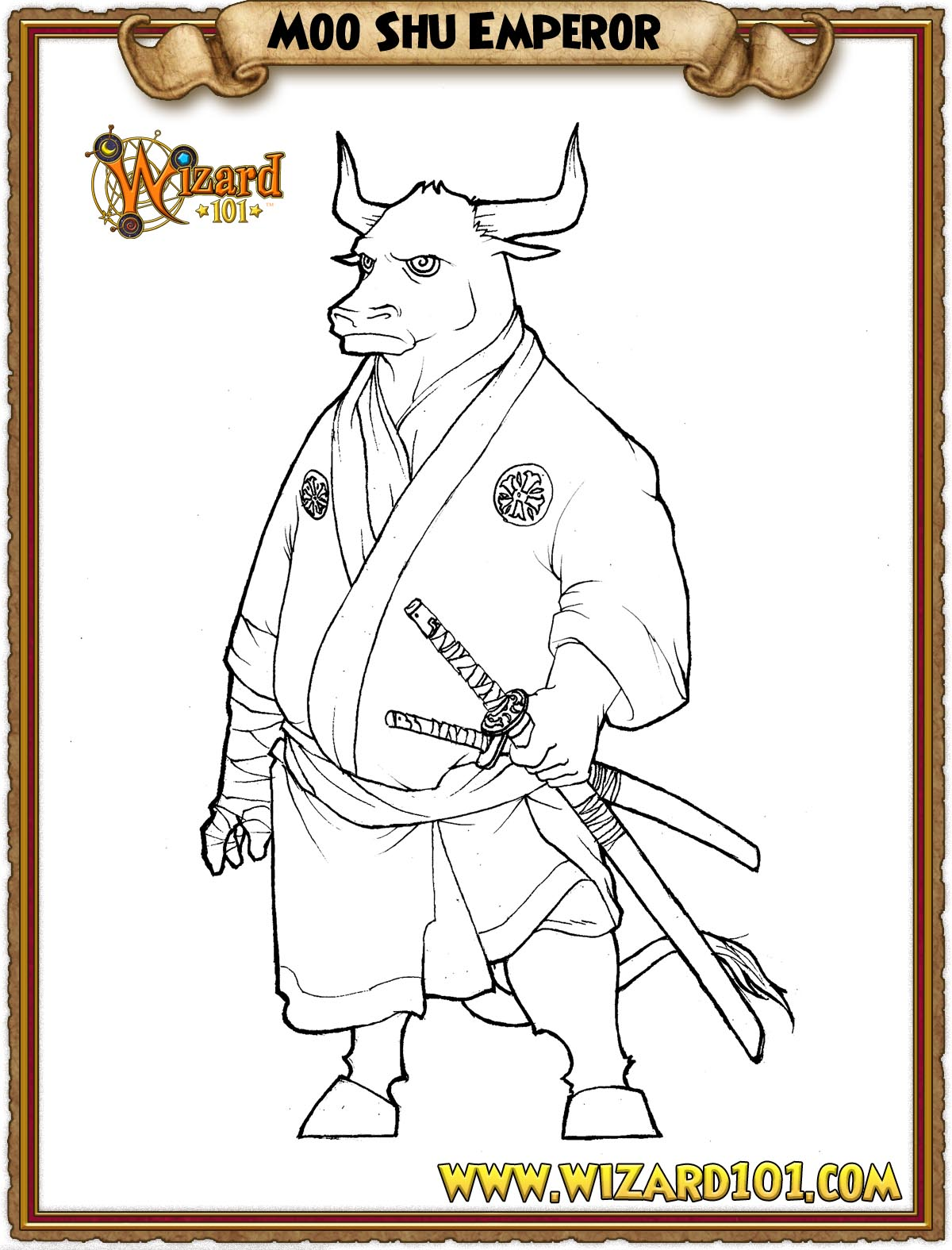 wizard101 printable coloring pages - photo#9