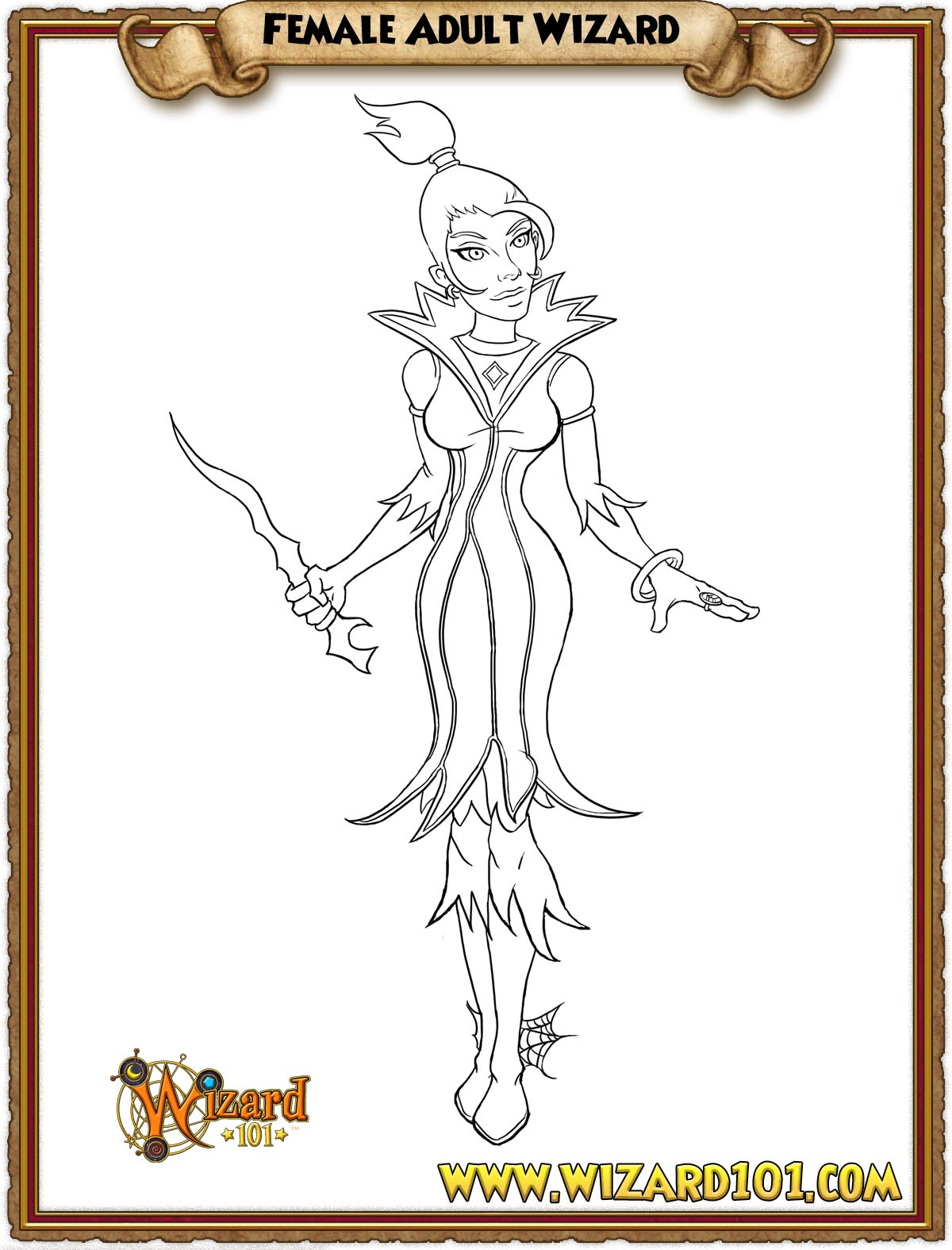wizard101 printable coloring pages - photo#3