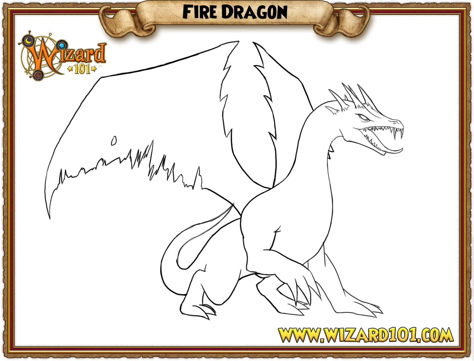 wizard101 coloring page wizard101 coloring page