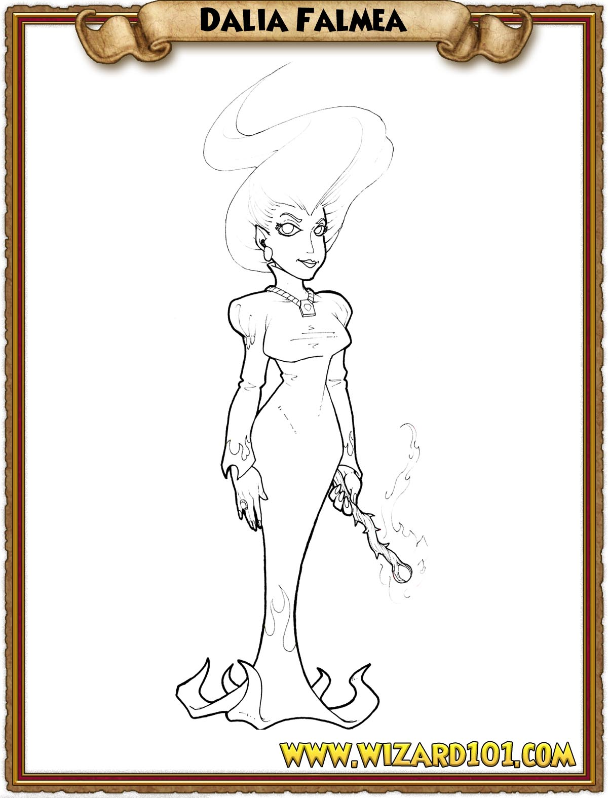 coloring pages wizard101 free online game rh wizard101 com Geisha Kimono Coloring Pages Adult Coloring Pages