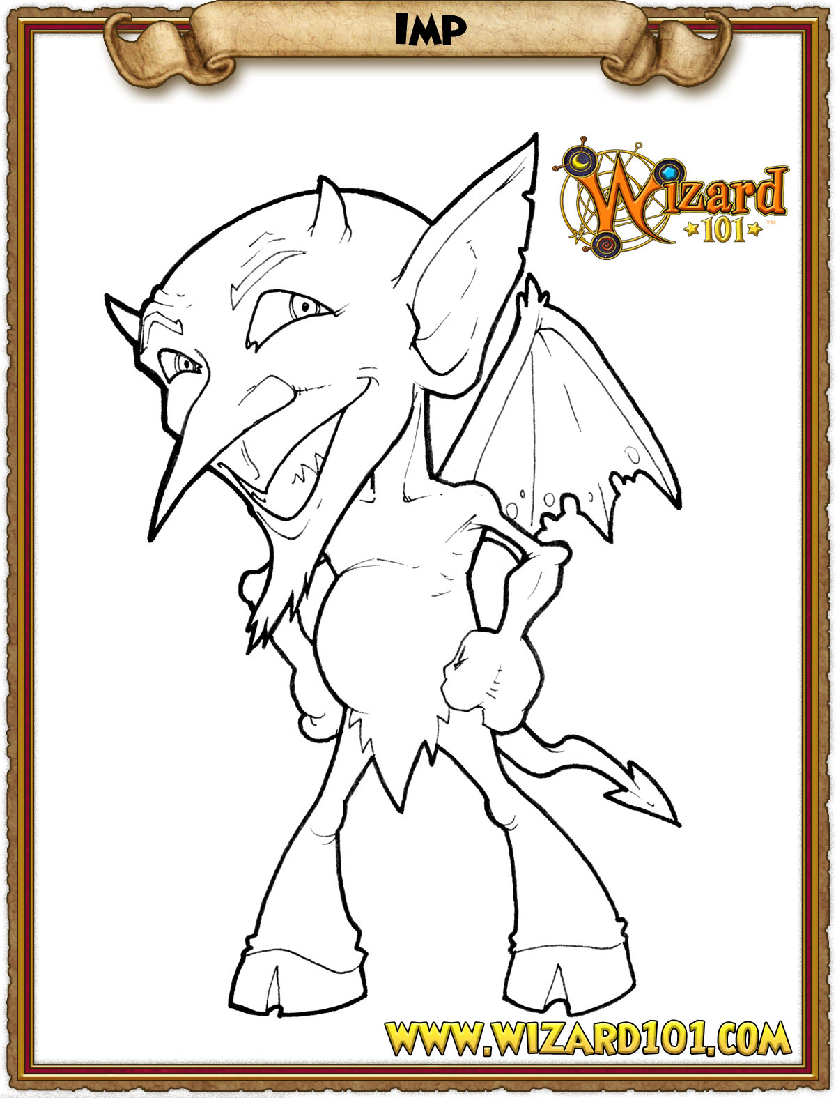 wizard101 printable coloring pages - photo#2