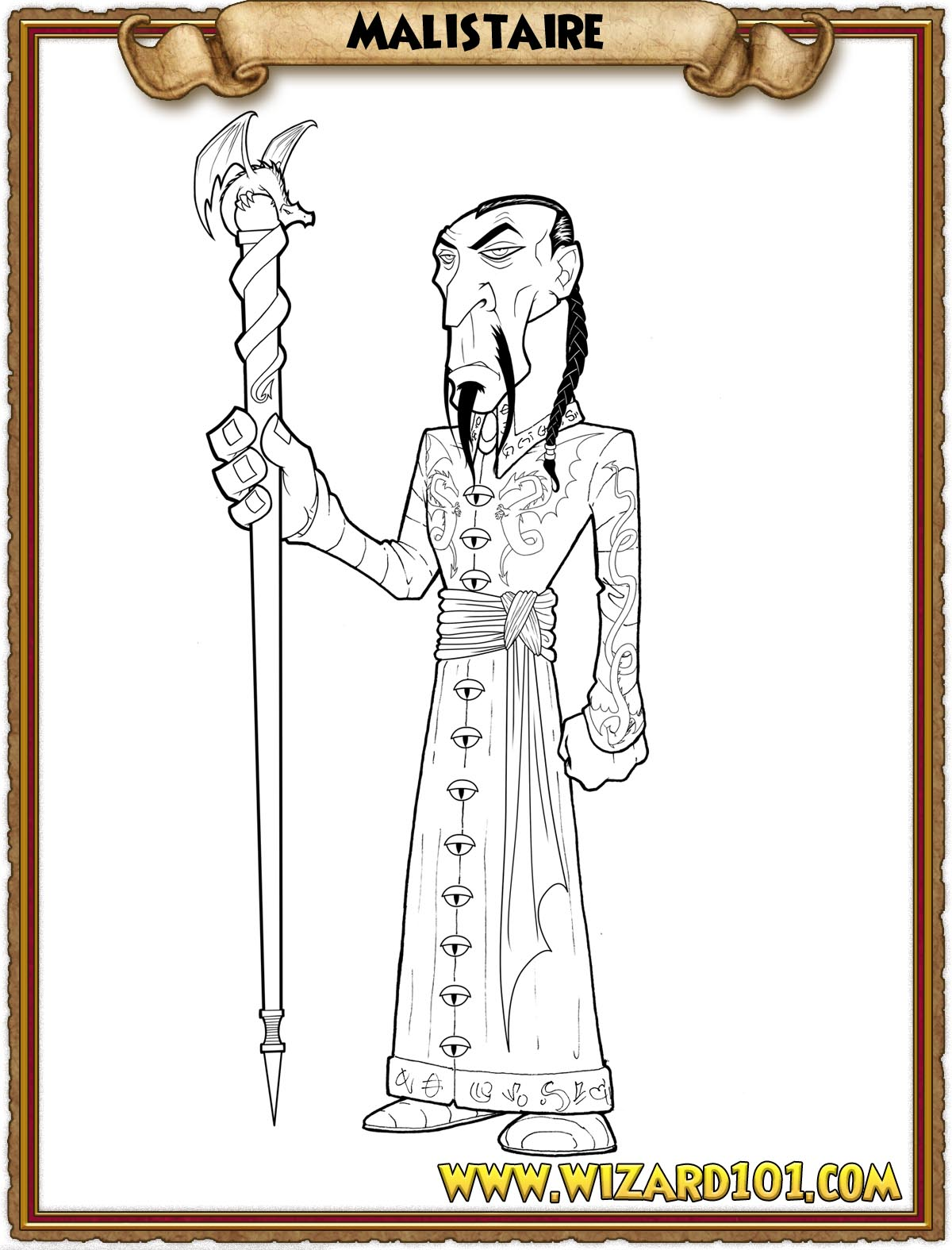 wizard101 printable coloring pages - photo#8