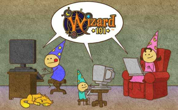 Wizard101 is a free game to download, fun for the entire Wizard family