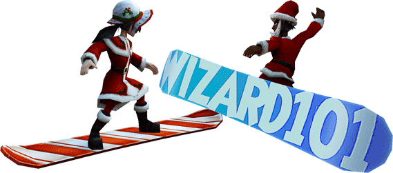 Wizard101 Snowboard mounts