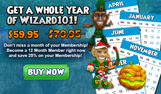 Wizard101 Homepage