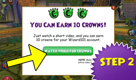 Watch Videos to Earn Crowns | Wizard101 Free Online Game