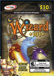 wizard101 membership cards walmart