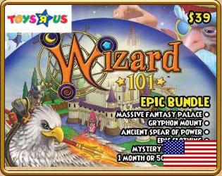 Prepaid Game Card Wizard101 Free Online Game