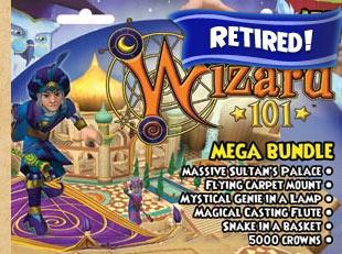 Mega Bundle Prepaid Game Card | Wizard101 Free Online Game