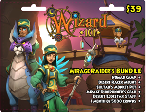Mirage Raider's Bundle