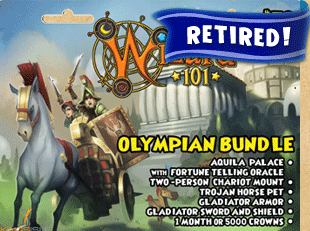 Olympian Bundle | Wizard101 Free Online Game