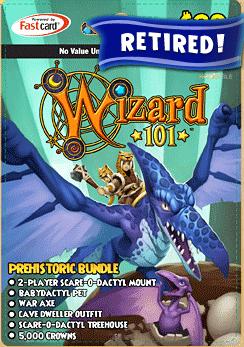 Prehistoric Bundle | Wizard101 Free Online Game