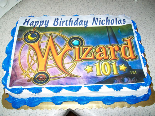 Wizard101 Birthday Cake