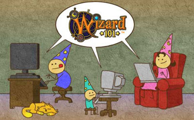 Wizard101 has safe kids games that are meant for the whole family!