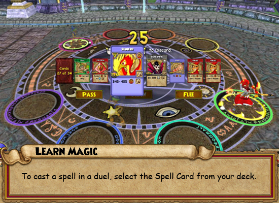wizard magic spell games