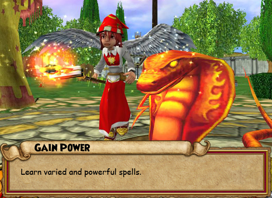 play wizard games for free
