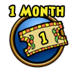 Purchase a one month Wizard101 membership