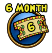 Get a six month Wizard101 membership