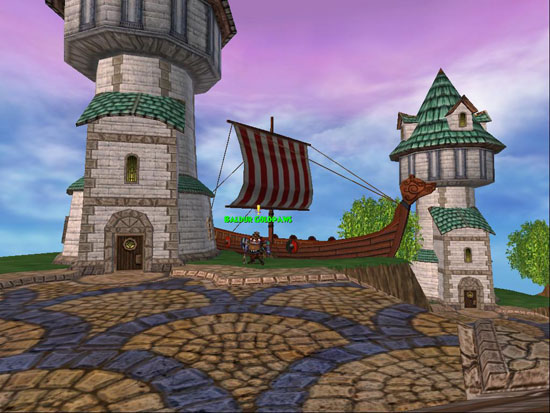 Wizard101 Viking Ship