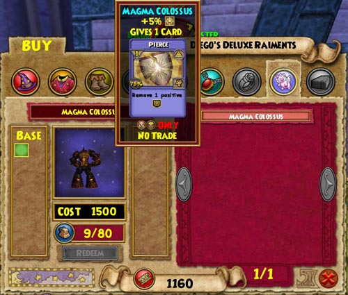 Wizard101 Arena Tickets