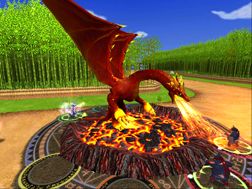 Wizard101 Fire Dragon