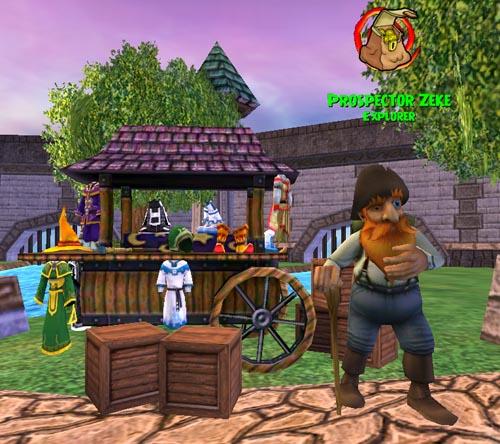 Wizard101 Explorer NPC