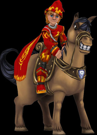 Wizard101 Brown Horse Male