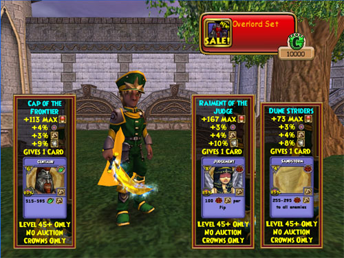 Wizard101 Overlord Clothing