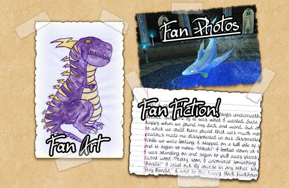 Online Game Pictures, fan fiction