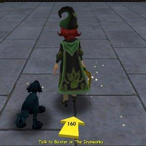 Wizard101 Quest Arrow