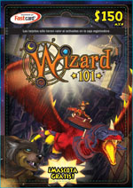 Prepaid Game Card Wizard101 Free Online Game